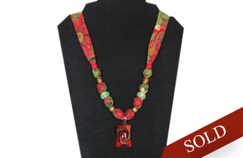 Sold Christmas necklace